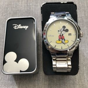Mickey Mouse Silver Plated Watch